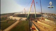Juventus Stadium - 80 seconds to construct a dream