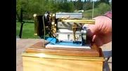 Най малкият 4цилиндров двигател с водно охлаждане при това