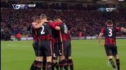 Феноменален гол от корнер на Станислас за Борнемут срещу Манчестър Юнайтед