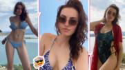 Марина Войкова в перфектна форма на плажа, избра Гърция за лятната ваканция