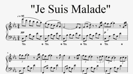 """Je suis malade"" - Serge Lama (Piano Cover)"