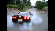 Chevrolet Corvette - Burnout
