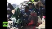 Италия: Полицията разчисти бежански лагер край границата с Франция