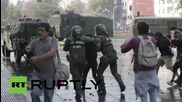 Chile: Carnage as clashes erupt at CONFECH educational reform rally