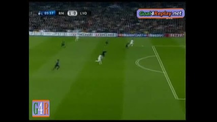 10.03 Real Madrid - Olympic Lyonnais 1:0 Кристиано Роналдо гол