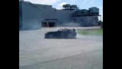 Toyota Supra Burnout