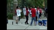 Продължава учителската стачка в Чикаго