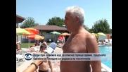 Дори при оранжев код за опасно горещо време, градските басейни в Пловдив се радваха на посетители