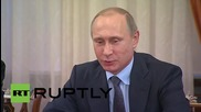 Russia: Putin meets 'the elders,' regrets their departure from frontline politics