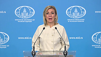 Russia: Zakharova threatens Germany with 'harsh' response over Berlin 'impeding' Russian media