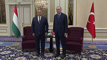 Belgium: Erdogan meets with Hungarian PM Orban ahead of NATO summit in Brussels