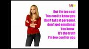 Too Cool - Karaoke (enhanced Version) [high Quality].avi