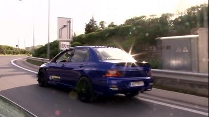 Гръцки Звяр - Mitsubishi Evo (patra Performance)