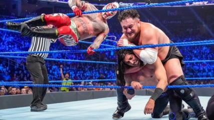 AJ Styles vs. Rey Mysterio vs. Mustafa Ali vs. Randy Orton vs. Samoa Joe - Winner faces WWE Champion Daniel Bryan at Roy
