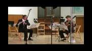 M. Castelnuovo - Tedesco - Sonatina for flute & guitar op.205 , 2 movt.