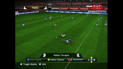 Компилация от фалове на Pro Evolution Soccer ( Pes ) 2010 Hd* Hq