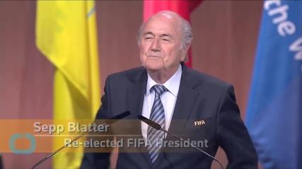 Sepp Blatter Steps Down As FIFA President