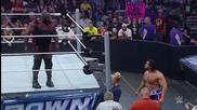 Rusev vs. Sin Cara/ Русев ср. Син Кара (марк Хенри се Спрачква с Русев)