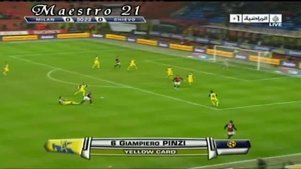 Ac Milan 1 - 0 Chievo - 14.3.2010