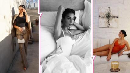 Секси и палава в разгара на празниците: гаджето на Роналдо изкушава със снимки