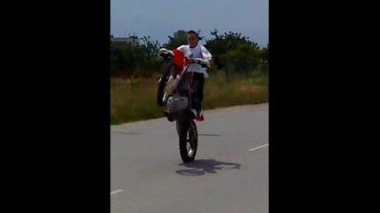 Wheelie Crf 450
