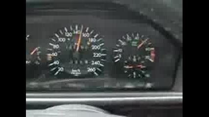 bg izvor Mercedes E500 0 - 260 Km h