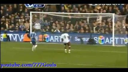 Chelsea vs Aston Villa 1-2 Goal Petrov 31.12.2012