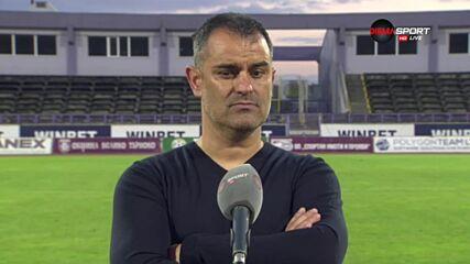 Великов: С тази нагласа няма да имаме проблеми в първенството