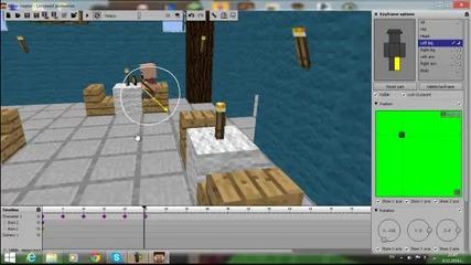 Minecraft Как да си направим анимация Noch краде храна