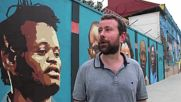 Brazil: Olympic refugee team honoured with street art in Rio