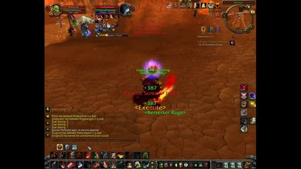 World of Warcraft - warr vs priest
