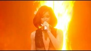 "Rihanna - Brits 2011 medley of ""only Girl (in The World) "", ""s&m"" and ""what's My Name"
