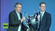 Германия: Берлин приветства Купата на Шампионска Лига