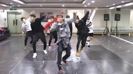 Bts Rise of Bangtan mirrored Dance Practice