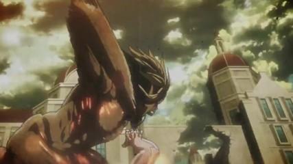 Attack on Titan Season 2 Episode 1 Bg Subs Върховно Качество