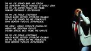 Dino Merlin - Nek padaju cuskije - Prevod