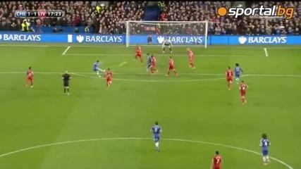Челси обърна Ливърпул след много силни 45 минути и остави мърсисайдци извън топ 4