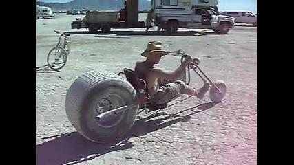 Несте виждали харли колело като това