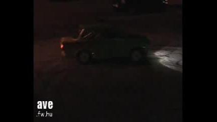Trabant Се Върти С Ръчна