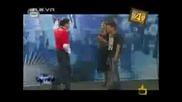 Танцов дуел между Марин и Мустафа - смях ( господари на ефира 24.06.09 )