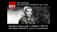 100 Greatest Singers Maria Callas