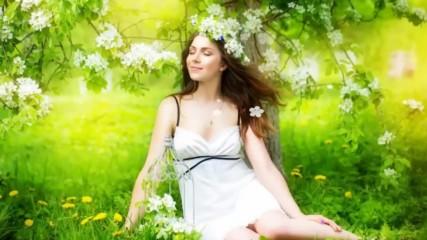 Цветовете на пролетта ... (music by Tim Janis) ... (бяла пролет)