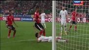 Австрия 1 - 0 Черна гора ( квалификация за Европейско първенство 2016 ) ( 12.10.2014 )
