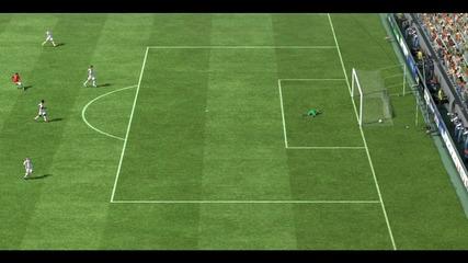 Fifa 11 Гол на Danny от 50 метра