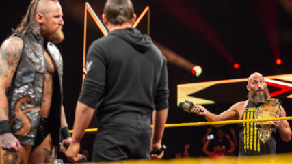 Tommaso Ciampa instigates a Steel Cage Match between Aleister Black and Johnny Gargano: WWE NXT, Dec. 5, 2018