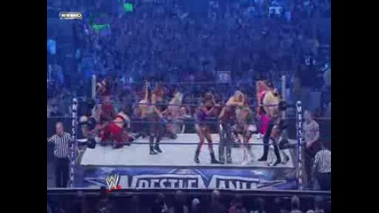 25 - Diva Battle Royal for title of Miss Wrestlemania 25
