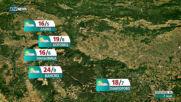Прогноза за времето на NOVA NEWS (07.05.2021 - 18:00)