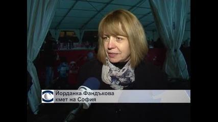 Най-голямата закрита ледена пързалка беше открита в София