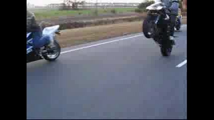 Rated R Motorcycle Stunts