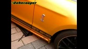 Ford Mustang Gt640 Golden Snake by Geigercars & Audi S1 Quattro